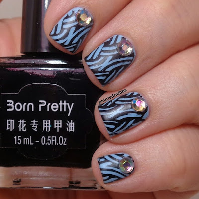 Stamping Saturdays #33: Born Pretty Store Black Stamping Polish