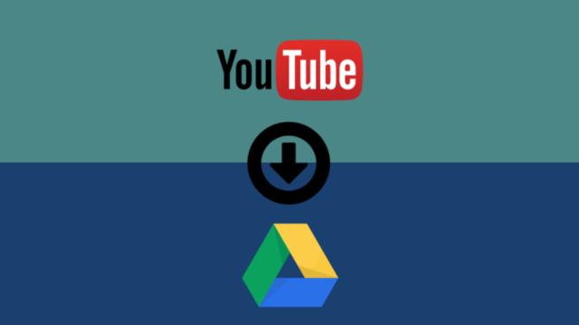 descargar archivos directamente a Google Drive