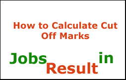 How to Calculate Cut Off Marks