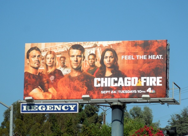 Chicago Fire season 2 NBC billboard