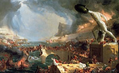EL CURSO DEL IMPERIO: DESTRUCCIÓN - Thomas Cole