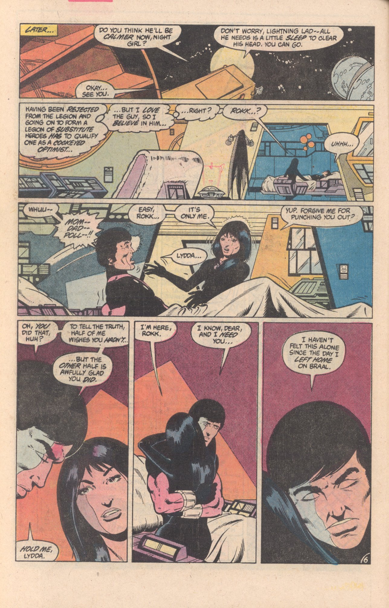 Legion of Super-Heroes (1980) 297 Page 6