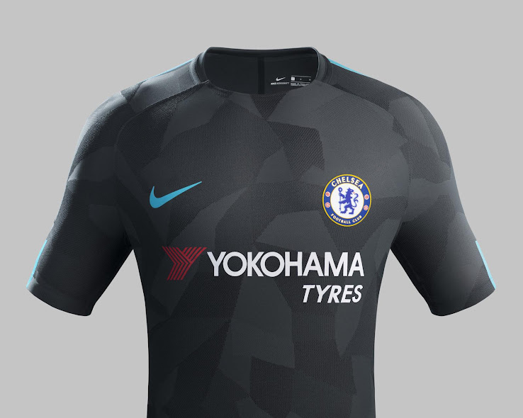 brand new 7c017 7a707 Official: Nike Chelsea 17-18 Third Kit Released - Footy ...
