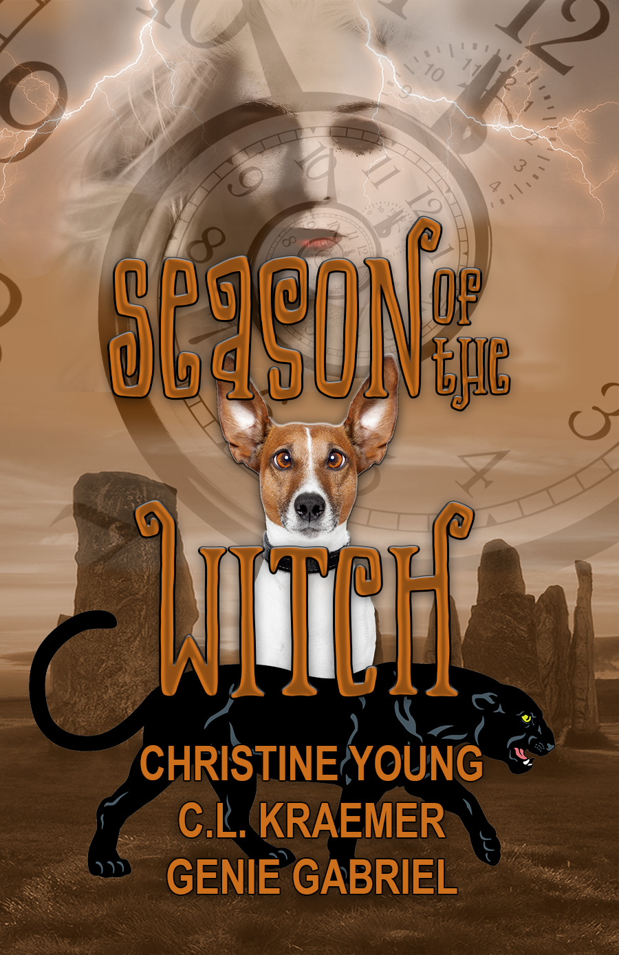 Includes my novella: THIRTEEN MAGIC PUMPKIN SEEDS