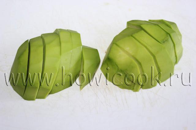 рецепт закуски с авокадо с пошаговыми фото
