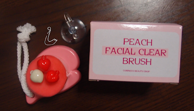 Review: COC Peach Pore Cleansing Brush