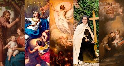 Imagens de santos, imagens católicas
