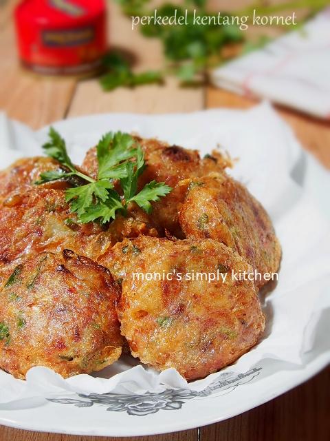 Resep Perkedel Kentang : resep, perkedel, kentang, Perkedel, Kentang, Kornet, Monic's, Simply, Kitchen