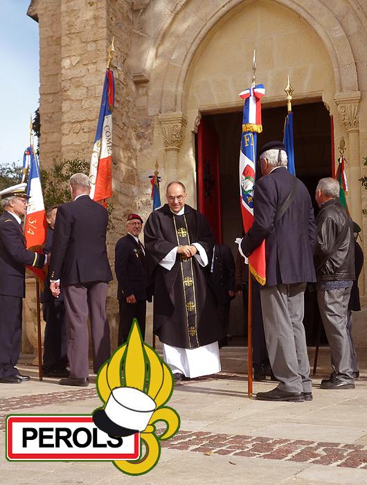 Messe pour la Légion Pérols