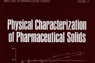 Pharmaceutics book: Physical Characterization Of Pharmaceutical Solids