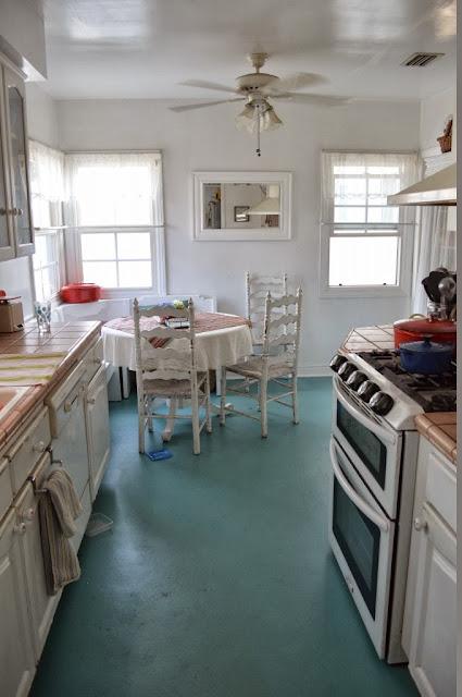 Painted Linoleum Floor Someday Crafts Bloglovin