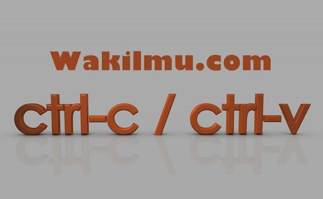 Cara Membuat Sumber Link Otomatis Saat Copy Paste (copas) di Artikel Website