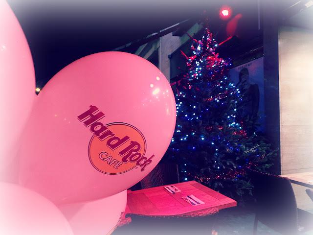 Hard Rock Cafe Paris menu festif restaurant noël christmas