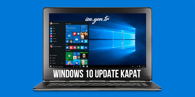 windows 10 update kapat