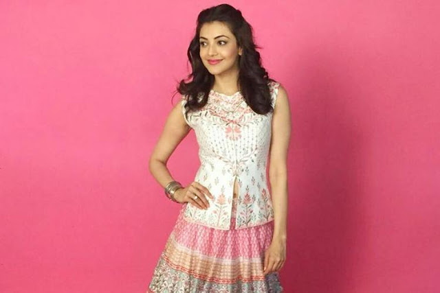 Kajal Aggarwal Looking Western Outfitsn An Anita Dongre