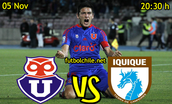 Ver stream hd youtube facebook movil android ios iphone table ipad windows mac linux resultado en vivo, online:  Universidad de Chile vs Deportes Iquique