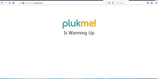 plukme platform warming up