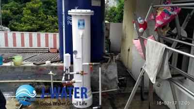 Pemasangan Penjernih Air Tandon