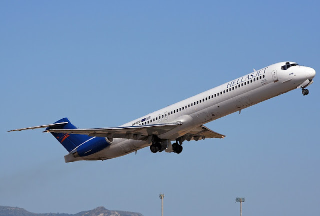 Tempo de avião até Creta