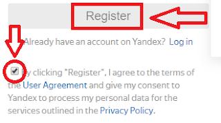 Cara Mendaftar Email Yandex