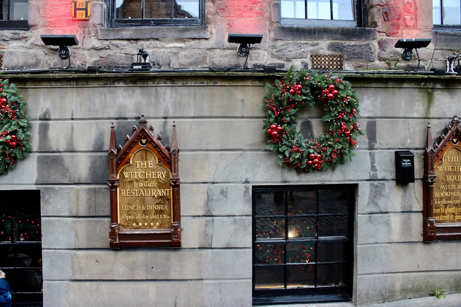 Witchery Edinburgh Christmas