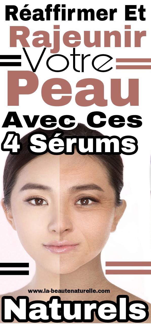 Réaffirmer et rajeunir votre peau avec ces 4 sérums naturels