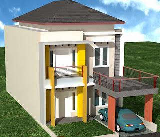 desain rumah minimalis lt 2