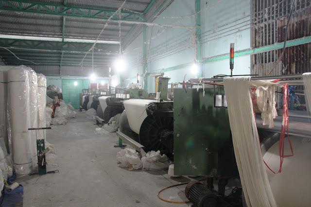 Xưởng dệt vải bố canvas