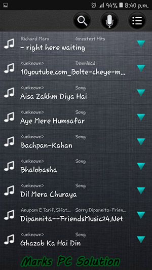 Ringtone Maker Audio List