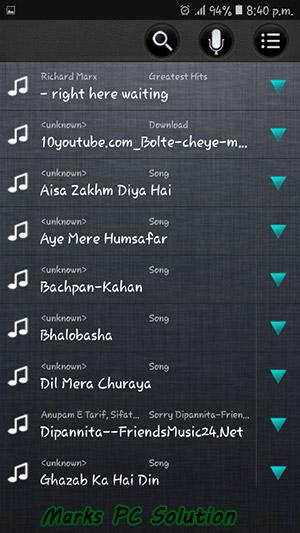 Ringtone Maker Audio List