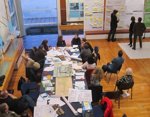 A Hidden Rooms workshop hosted by Dublin City Council and PIvot Dublin in 2014
