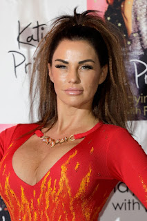 Katie Price Big Boobs Cleavage