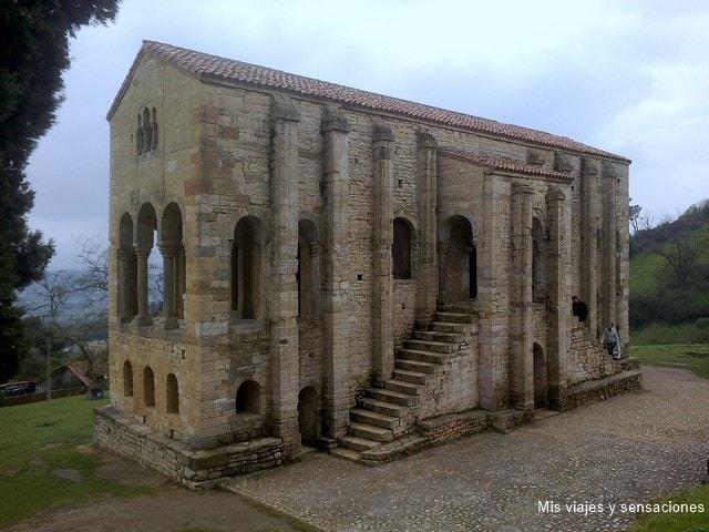 Santa María del Naranco, Oviedo, Asturias