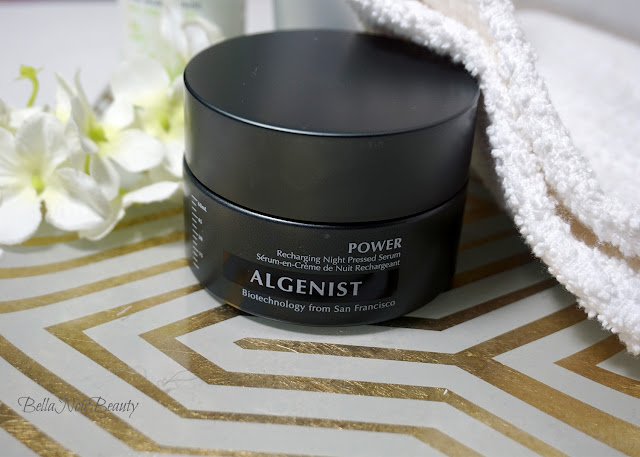 Algenist Recharging Night Pressed Serum | bellanoirbeauty.com