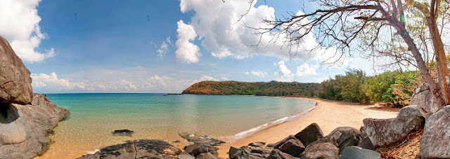 Dam Trau Beach, Con Dao