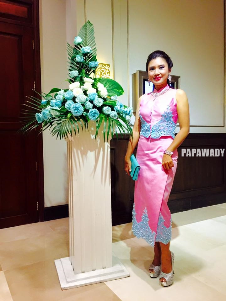 Khine Thin Kyi Attends Myanmar Women's Day Ceremony Dinner at Chatrium Hotel