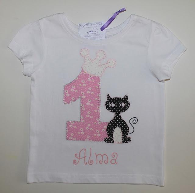 camiseta-cumpleaños-1año-gato