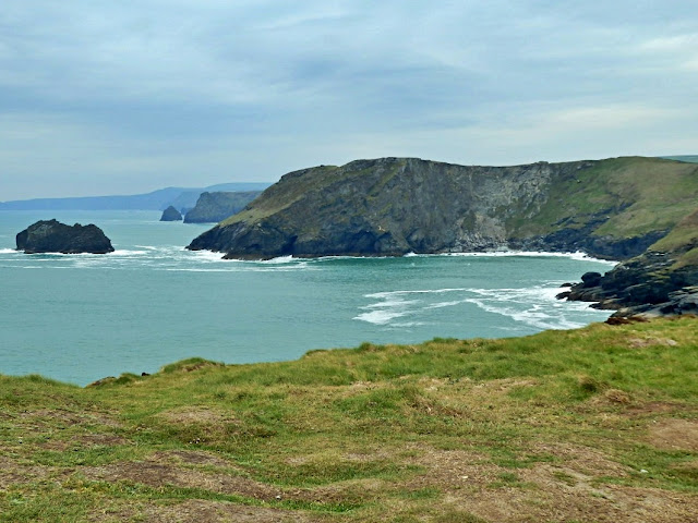 A lovely walk at Tintagel with stunning views