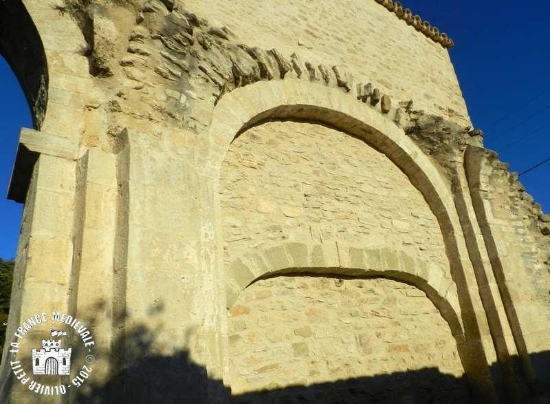 MONTBRISON-SUR-LEZ (26) - Chapelle clunisienne Saint-Blaise