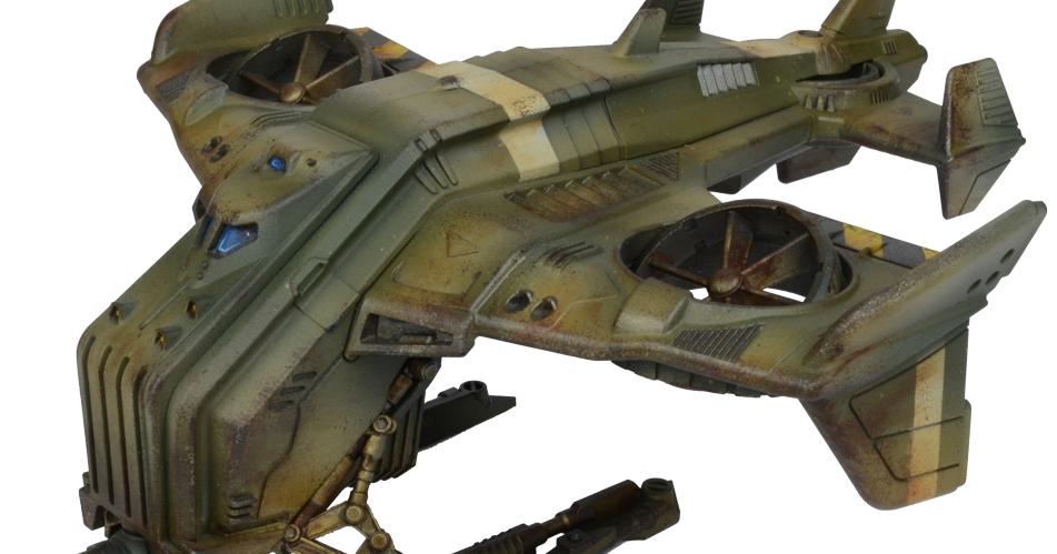 GCPS / Plague TAD-65 Hornet Dropship