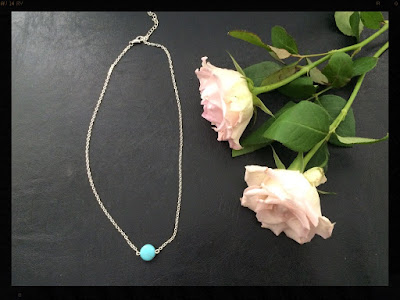 My Midlife Fashion, Yosa Tiny Teal Necklace