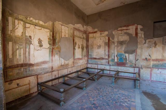 Casa del Menandro-Scavi di Pompei
