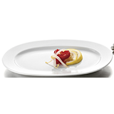 Platou Oval Exclusiv, Vesela Portelan, Pret, Serviciu de Masa, Portelan Alb, Vesela Restaurant, Set Portelan, Horeca