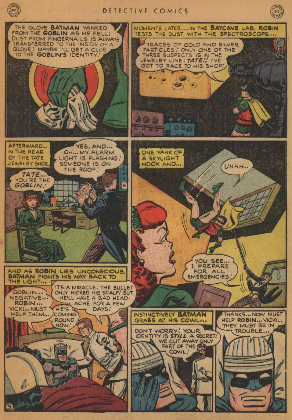 Read online Detective Comics (1937) comic -  Issue #152 - 11