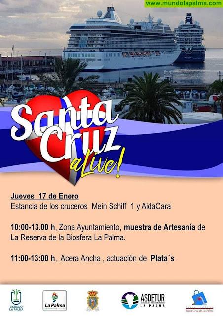 Este jueves llega a Santa Cruz de La Palma una nueva edición de SantaCruz ALive!