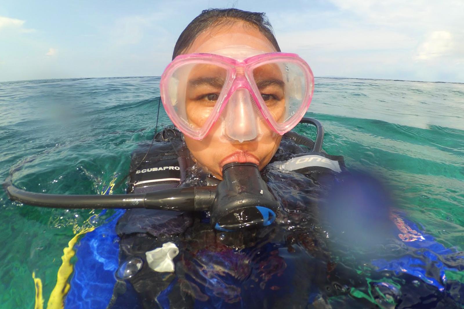 Menyelam Bareng Tashya Sambil Menyusuri Indah Pulau Hoga Wakatobicewek camni nmanis seksi