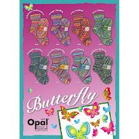 Opal Butterfly Sockenwolle 4-fädig zum Sticken