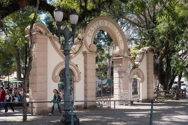 Portão do Passeio Público de Curitiba