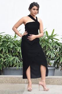 Shalini Pandey Hot Pics in Black Dress