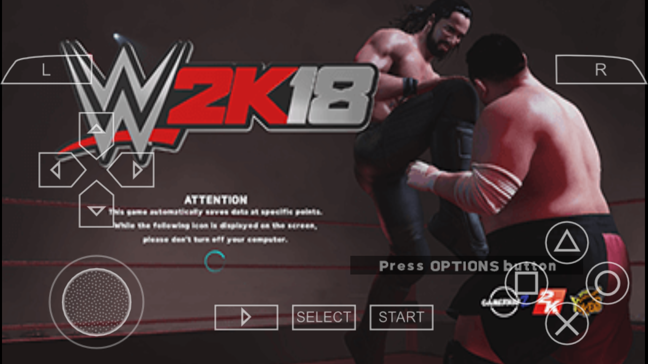 Wwe 2k18 for PSP - AB Tech gaming